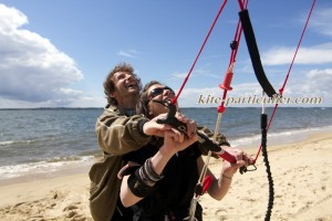 initiation kitesurf